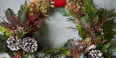 Christmas Wreath Making Workshop with Lewis Rose Flowers at Palava (SAT) tickets