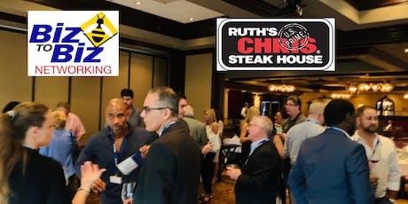 Biz To Biz Holiday Networking at Ruth's Chris Steak House Boca Raton tickets