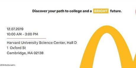 Boston McDonald's Education Workshop  at Harvard - FREE EVENT tickets