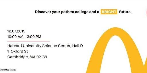 Boston McDonald's Education Workshop  at Harvard - FREE EVENT