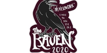 2020 The Raven 1M, 5K, 10K, 13.1, 26.2 -Raleigh