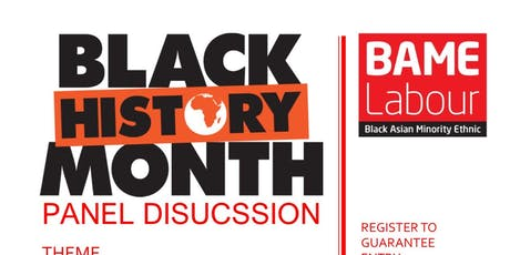 Black History Month Panel Discussion tickets