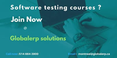 Software Testing and Quality Assurance(QA) Training - Montreal