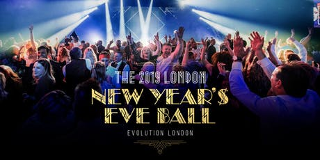The 2019 London New Year's Eve Ball tickets