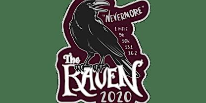 2020 The Raven 1M, 5K, 10K, 13.1, 26.2 -Tulsa