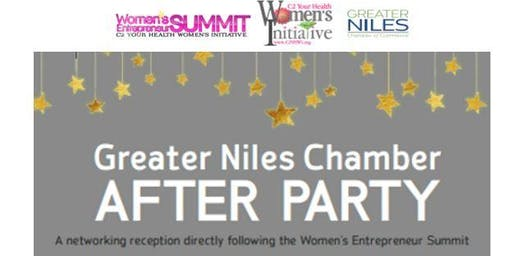 After Party Greater Niles Chamber - Women's Entrepreneur Summit