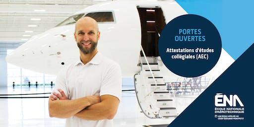 Séance d'information AEC aéronautiques 2020