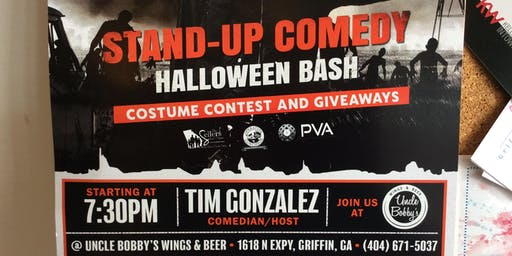 Tall Tales @ Uncle Bobby's Stand up Comedy Halloween show