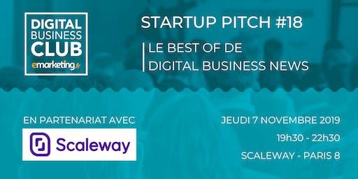 STARTUP PITCH #18 - Le Meilleur de Digital Business News