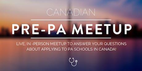 Toronto Pre-PA Meetup tickets