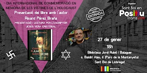 "Presentació llibre ""Cuando el Amor se Llama Odio"""