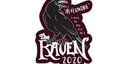 2020 The Raven 1M, 5K, 10K, 13.1, 26.2 -Knoxville