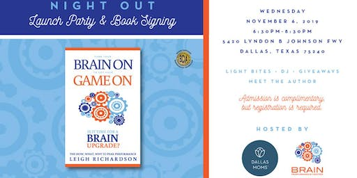 Launch Party & Book Signing with Brain Performance Center