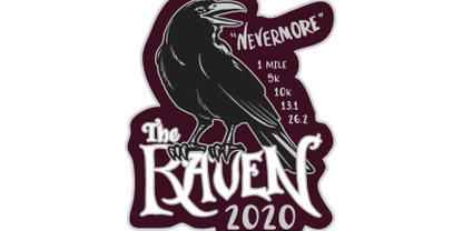 2020 The Raven 1M, 5K, 10K, 13.1, 26.2 -Alexandria