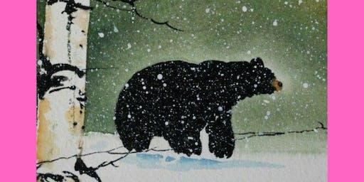 Winter Bear @ Wings Abbotsford