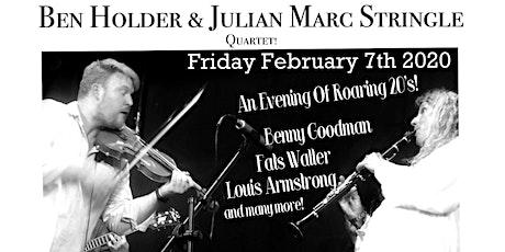 The Ben Holder & Julian Stringle Quartet at Reigate Park Church tickets