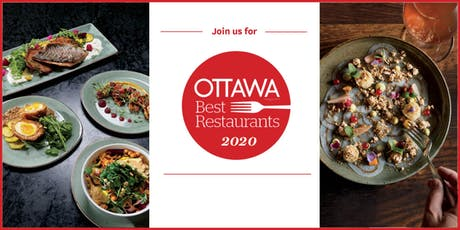Ottawa Magazine's Best Restaurants 2020 tickets