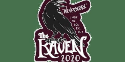 2020 The Raven 1M, 5K, 10K, 13.1, 26.2 -Green Bay