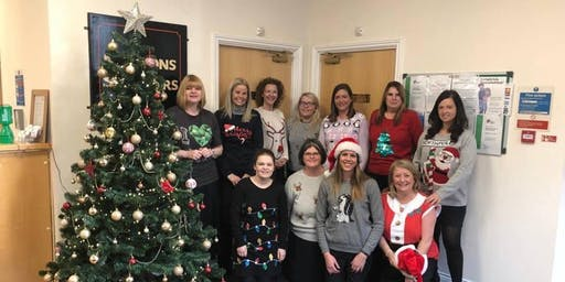 A-Four Business Christmas Jumper Networking