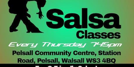 Walsall  Salsa Classes tickets