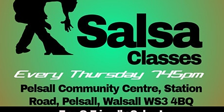 Walsall  Salsa Classes tickets
