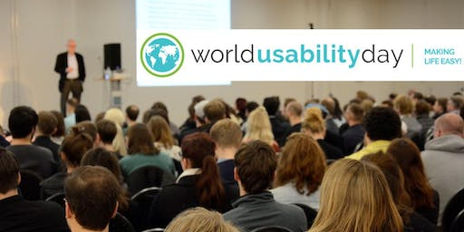 "World Usability Day Berlin 2019 - ""Designing for the future we want"""