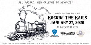 Amanda Gresham's Rockin' The Rails: FAI-New Orleans to...