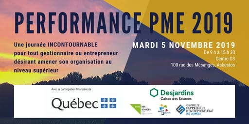 Performance PME des Sources - 2019