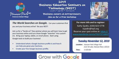 Get Your Business On-Line with Google