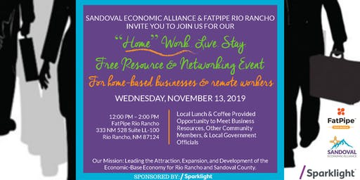 """""""Home"""" Work. Live. Stay.  A Free Resource & Networking Event"""