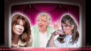 """""""Three Hysterical Broads... Off Their Medication"""""""
