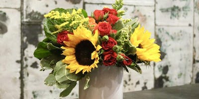 Friendsgiving Flowers at Luster Gift Boutique with Alice's Table
