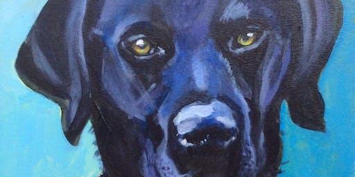 Paint Your Pet Paint n Sip with @BlaeberryRiverArt