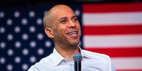 NPC Headliners Newsmaker: Democratic presidential candidate Sen. Cory Booker tickets