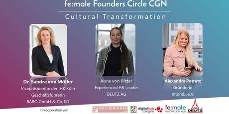 fe:male Founders Circle   Cultural Transformation Tickets