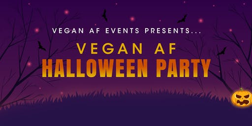 Vegan AF Halloween Party