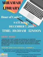 Hour of Code™ at Miramar Library for Kids