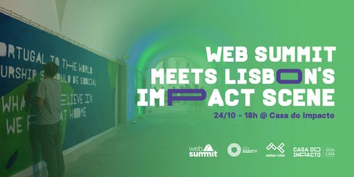Web Summit meets Lisbon's impact scene