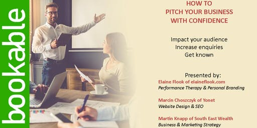 How to Pitch Your Business With Confidence