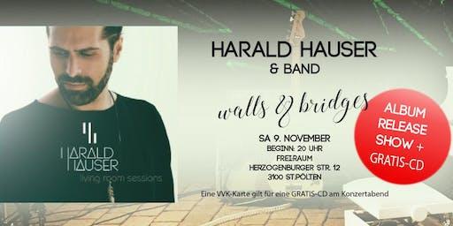 HARALD HAUSER & Band | Live Album Release Show mit Gratis-CD