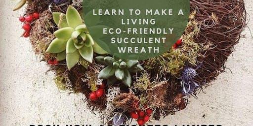 Succulent Wreath Making