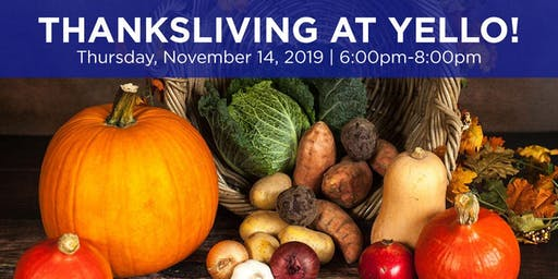 Thanksliving at Yello! A Vegan Thanksgiving Cooking Class