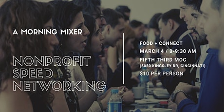 A Morning Mixer: Nonprofit Speed Networking tickets