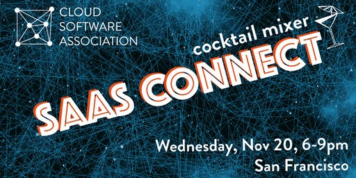 SaaS Connect cocktails during Dreamforce