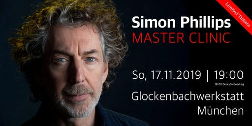 Simon Phillips - Master Clinic München