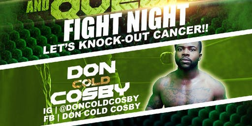 Donyeh Cosby Live Pro Boxing Event! #KnockOutCancer
