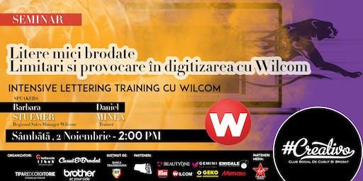 Limitari si provocare în digitizarea cu Wilcom - SEMINAR - CREATIVO 2019