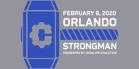 ORLANDO STRONGMAN 2 tickets