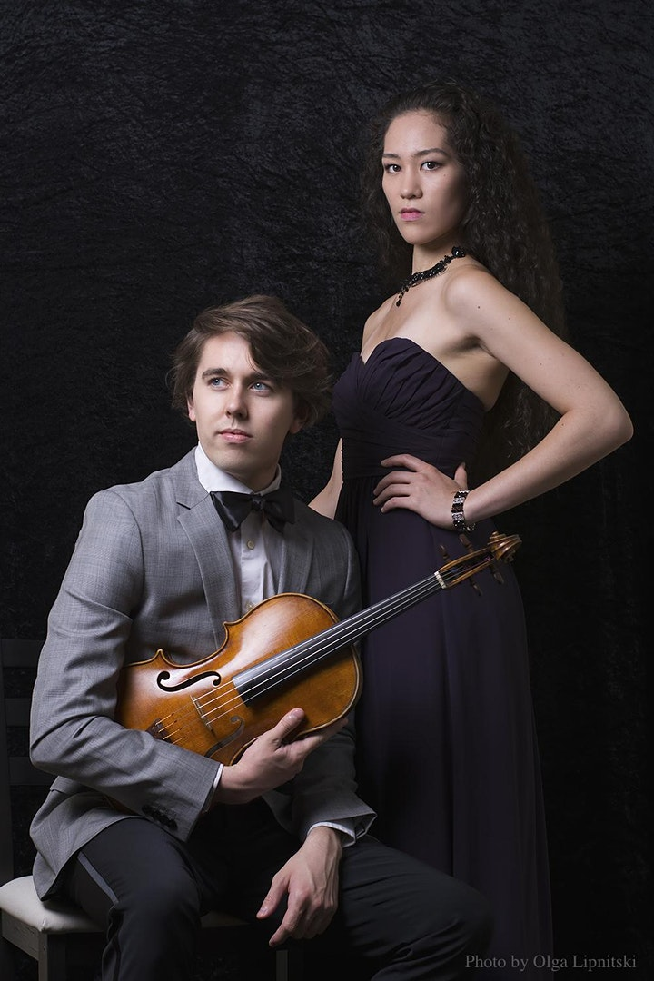 The Ezra Duo @ Steinway Piano Gallery Little Rock image