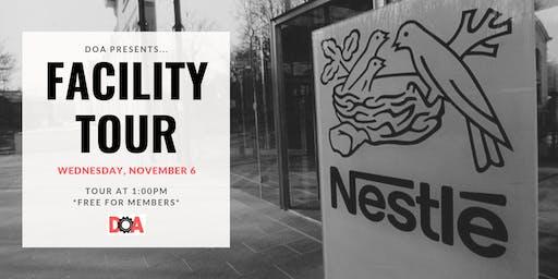 Nestle Facility Tour